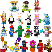 Single Legoings Series 13 Hot Dog Man panda Action Figures Bricks Collection Building Blocks Collection gift Toys for children(China)