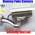 Outdoor CCD IR Nightvision Fake Dummy Decoy Security Camera Blinking Flashing Red  led Light Infrared LED CCTV Surveillance