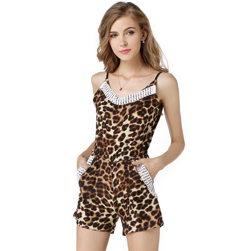 Online Get Cheap Leopard Print Jumpsuit -Aliexpress.com