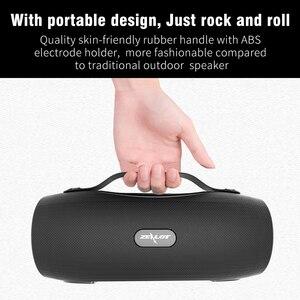 Image 3 - ZEALOT S29 Không Dây Bluetooth Fm Radio Di Động Loa + Đèn Pin + Đèn Công Suất Ngân Hàng + Hỗ Trợ Thẻ TF, đèn LED Cổng USB
