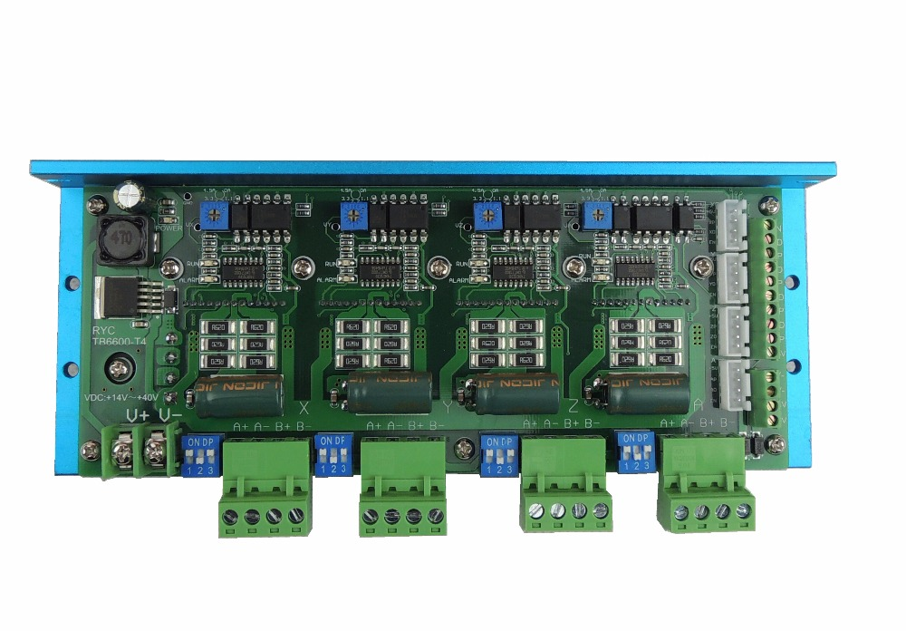 Free Shipping Quality Assurance CNC TB6600 4 Axis 4 5A Stepper Motor Driver Board For Engraving
