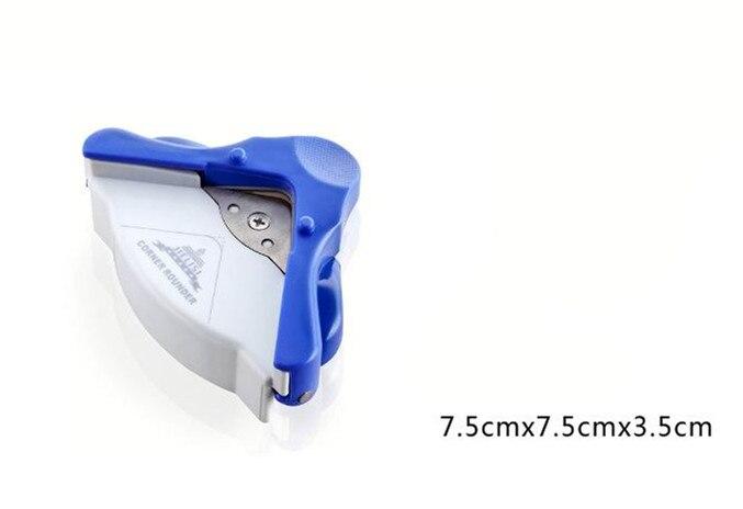 מכונת חיתוך חותך פינה ידנית גודל R5 פינה עגולה תמונה חותך נייר אגרוף