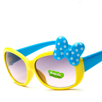 ZXRCYYL 2018 NEW Children Goggle Girls Alloy Sunglasses Hot Fashion Boys Girls Baby Child Classic Retro Cute Sun Glasses UV400