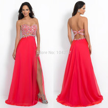 2019 New Arrival Sexy Jessica Rabbit Red Prom Dresses Strapless Sweetheart Backless Beaded Bodice Long Formal APD1164