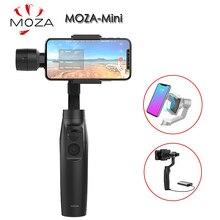 Moza mini mi s 3 axis handheld cardan estabilizador para iphone 8 plus gopro pk zhiyun liso 4 dji osmo móvel 2 bolso osmo