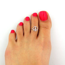 1pc Silver Delicate Toe Ring Simple Peace Open Adjustable Foot Jewelry Beach Jewelry for Women Girls Fashion Jewelry New Arrival(China)
