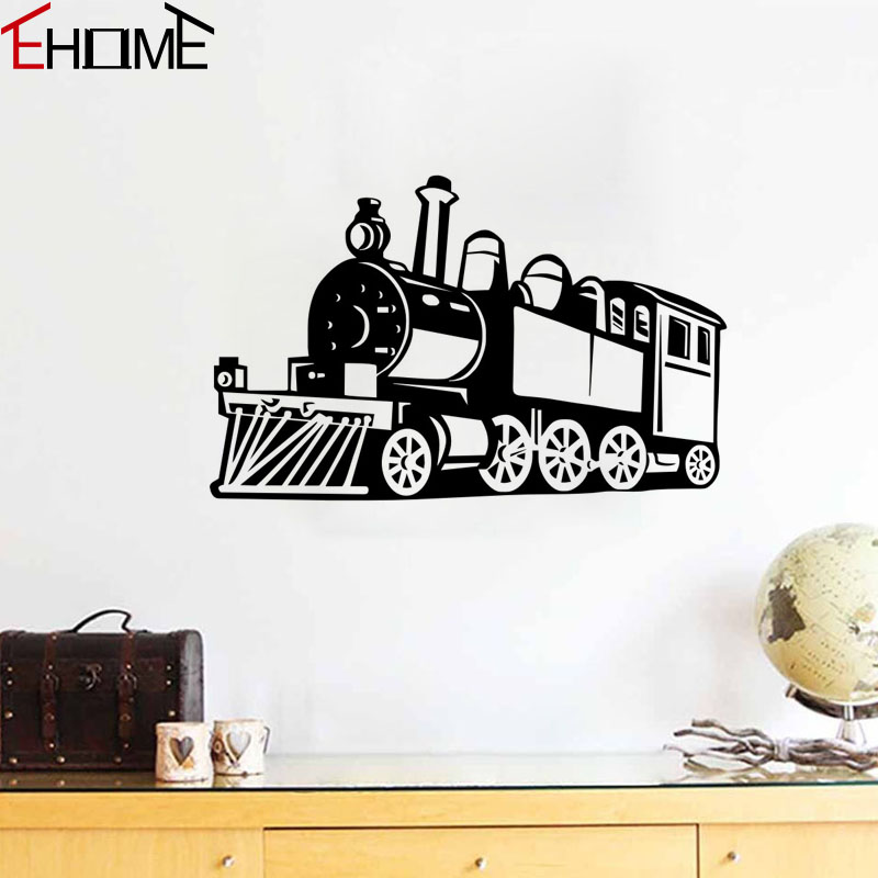 Train Wall Decor popular train wall stickers-buy cheap train wall stickers lots
