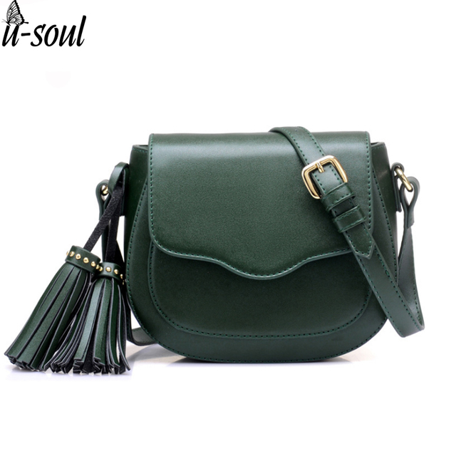 f6023be23f8ad women bag female tassel mini shoulder bag handbag long belt lady messenger  bag casual pu leather cross body purse SC0459