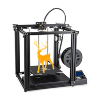 2019 Newest Ender 5 3D printer V1.1.4 mainboard Large size Cmagnetic build plate power off resume enclosed structure Creality 3D