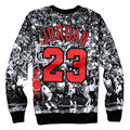 2016 New 3D Printed Sweatshirts Jordan Last Shot Harajuku Men Pullover Hoodies Crewneck Long Sleeve Hoody Clothing