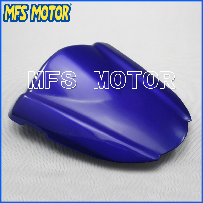 Motorcycle Part For GSX R1000 K7 Rear Pillion All Blue Injection ABS Seat Cowl Cover For Suzuki GSX R1000 K7 2007 2008