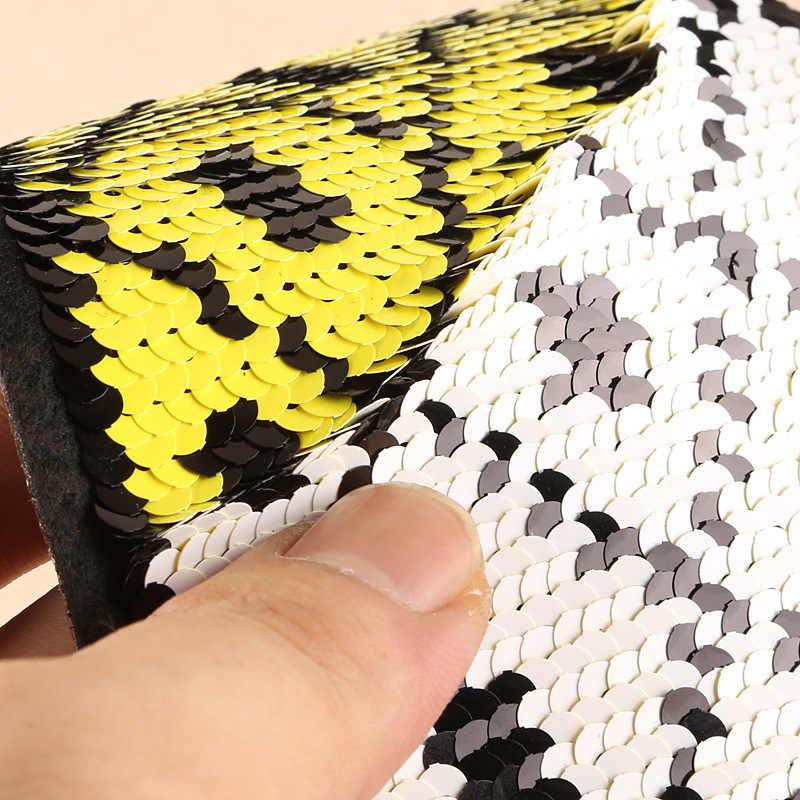 Быстро раскупаемый 1 шт. двусторонний DIY Одежда с пайетками патчи плоды ананаса в форме вишня банан милые аксессуары для шитья