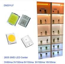 Nowy wysokiej jasności LED 1 Watt biały smd 2835 diody LED 120 lm/w 9V 6000K prąd 100mA Factory Outlet darmowa wysyłka