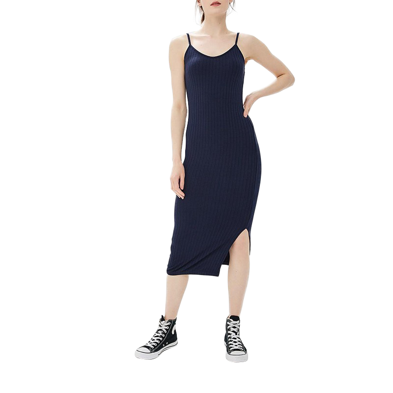 Dresses MODIS M181W00895 women dress cotton  clothes apparel casual for female TmallFS