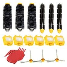 Neue Marke Filter Pack 3 Bewaffneten Seite Pinsel Kit Für iRobot Roomba Vakuum 700 760 770 780