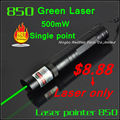 [RedStar] 850 Laser only 500mW Green laser pointer Red laser pointer single point without 16340 battery and charger