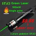 [ Redstar ] 850 только 500 МВт зеленая лазерная указка красная лазерная указка единая точка без аккумулятор 16340 и зарядное устройство