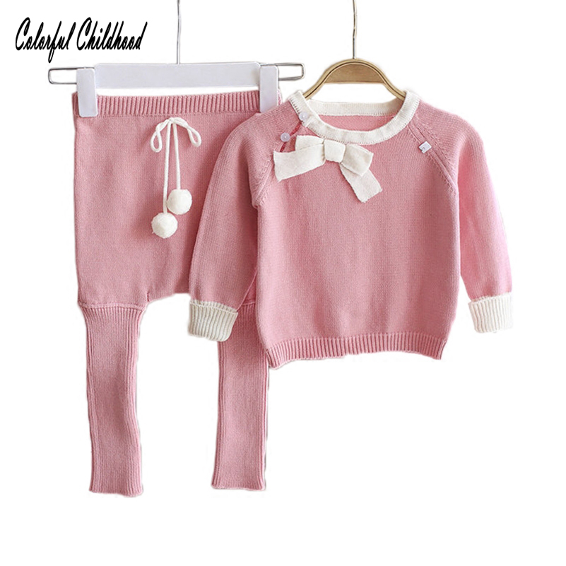 Newborn Baby girl clothes spring autumn baby clothes set cotton Kids infant clothing Long Sleeve Outfits 2Pcs baby tracksuit Set cotton baby rompers set newborn clothes baby clothing boys girls cartoon jumpsuits long sleeve overalls coveralls autumn winter