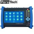 IPC8600MOVTADHS 7 polegada tela de toque capacitivo, IP + Analógico + HD Coaxial Testador 12V2A/5 V 2A banco de potência/PoE WI-FI Embutido