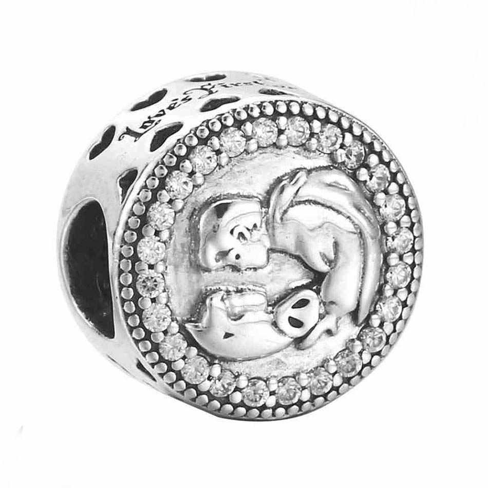 03e776531 30% Silver Bead Charm Limited Edition Snow White 80th Anniversary Beads Fit  Pandora Bracelet Bangle
