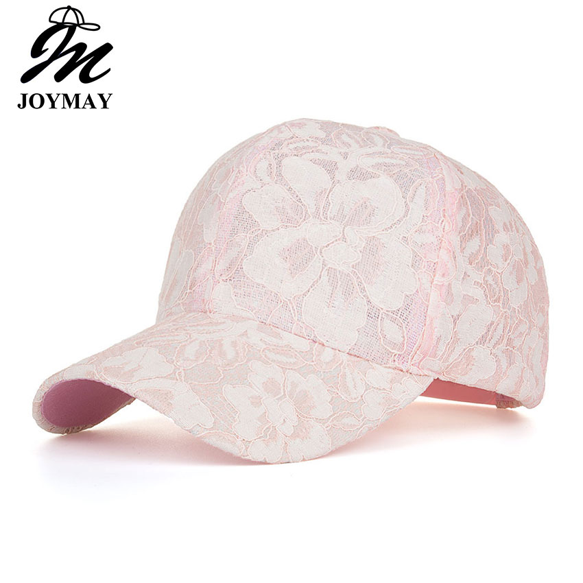 JOYMAY New arrival high quality summer fashion snapback   cap   lace jacquard for women   baseball     cap   B431