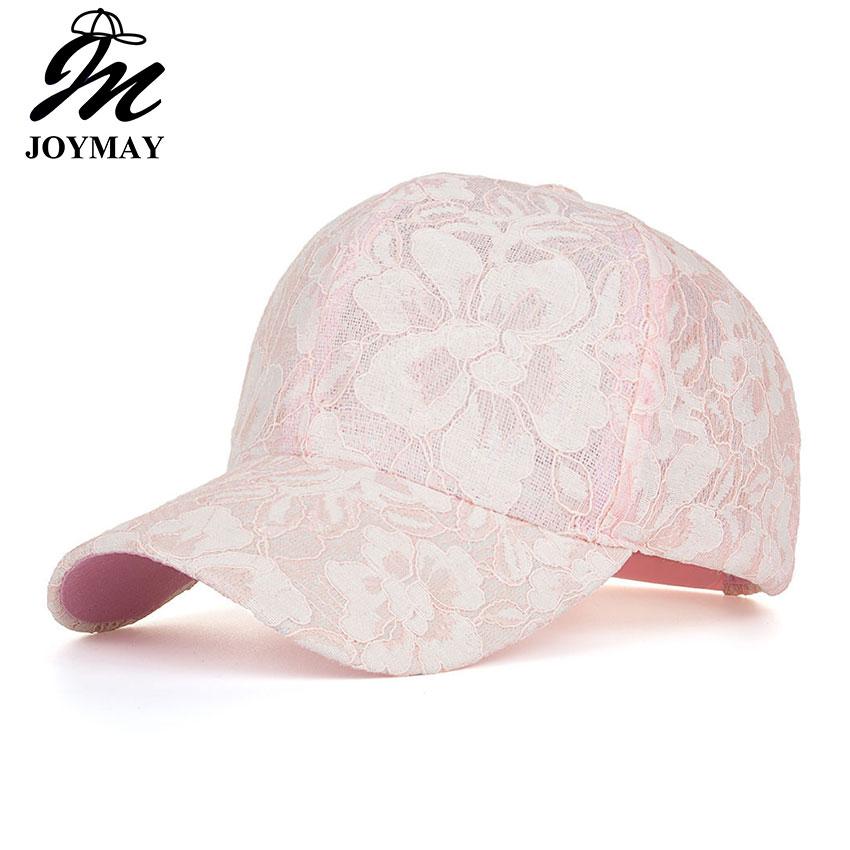 JOYMAY New arrival high quality summer fashion snapback   cap   lace jacquard for women   baseball     cap   B431