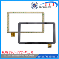 New 10.1'' inch case Tablet Capacitive Touch Screen Panel Replacement For WJ819C-FPC-V1.0 Digitizer External Sensor Free Ship