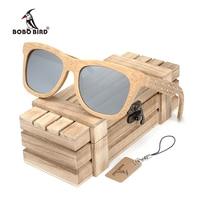 BOBO BIRD DG06g 2017 New Model Handmade Bamboo Polarized Sunglasses Women Mens with carved legs Creative Wooden Gift Box