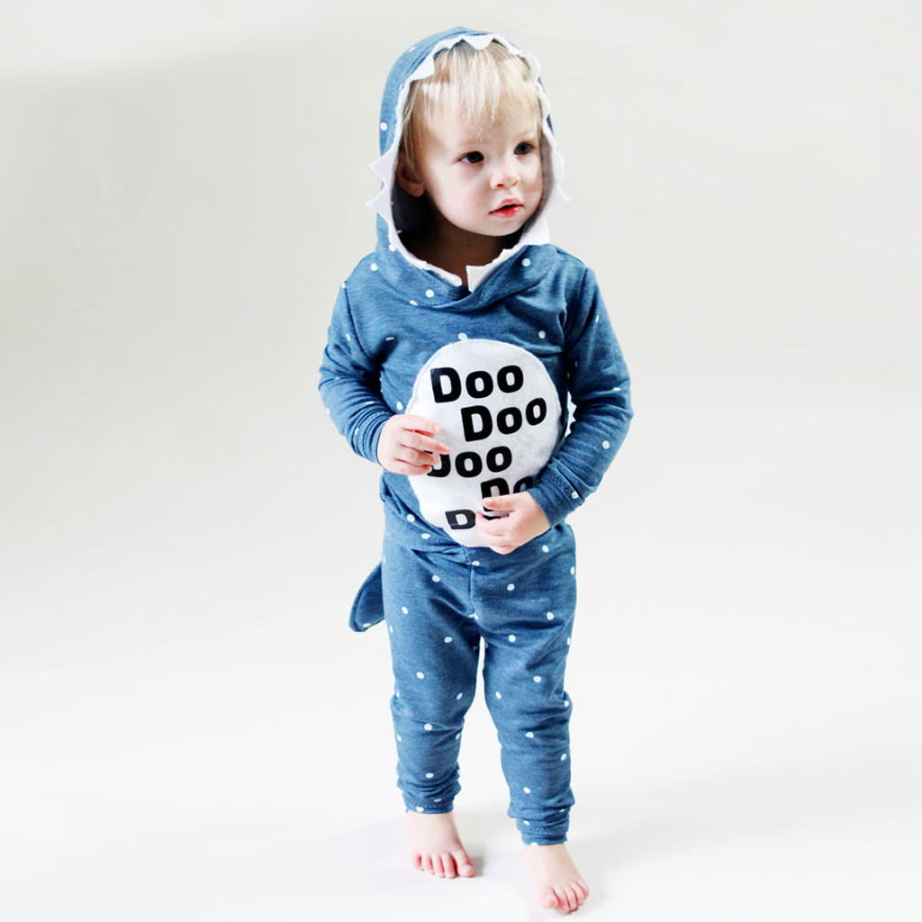 Outfits Sweatshirt Hooded Toddler Infant Baby-Boys-Girls Cartoon Sudadera Feminino Moletom
