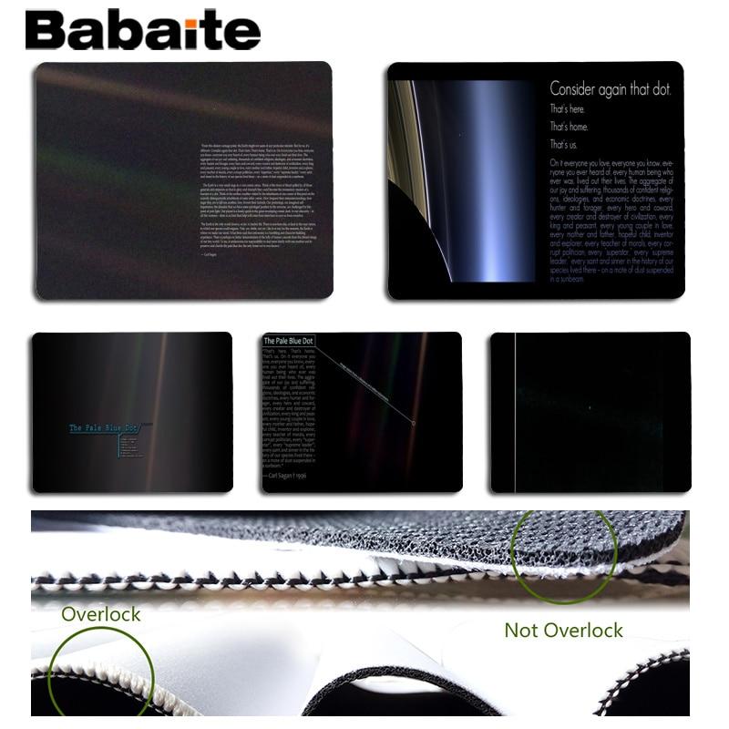 Babaite Simple Design Pale Blue Dot Large Mouse pad PC Computer mat Size for 180x220x2mm and 250x290x2mm Small Mousepad