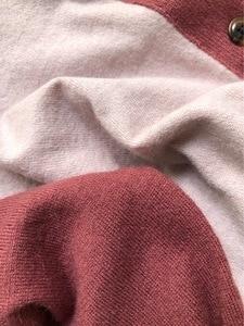 Image 5 - Cárdigan de tres colores 2019 otoño e invierno, nuevos modelos de temperamento, cárdigan tejido de manga larga, suéter de mujer