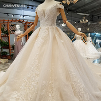 LS854001 2018 new design sexy wedding gowns women off the shoulder sweetheart customized shiny wedding dresses with long train