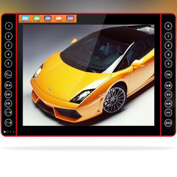 2016 22 inch Portable DVD player HD 1280x720P video game machine old man FM mobile audio radio Music singing with TV Amplifier