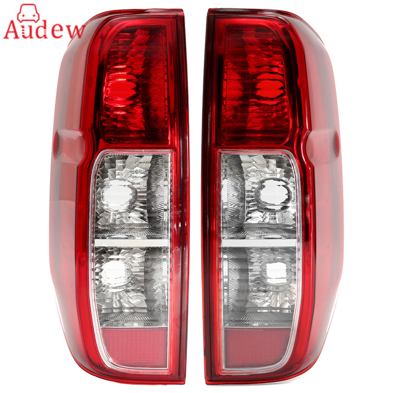 1Pcs Rear Tail Light LEFT/RIGHT Driver Passenger Side For Nissan NAVARA D40 2005-2015 1pcs black holder outer rear tail lamp taillight right passenger side 8330a622 for mitsubishi lancer evo 2006 2012