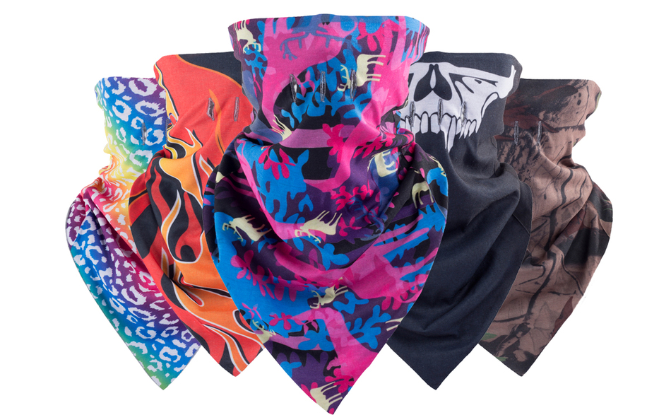 2017 Unisex Winter Hat Warm Triangle Bandage Balaclava Ski Mask Outdoor Cap Snowboard Scarf Skate Skullies Beanie Ghost Masks hot winter beanie knit crochet ski hat plicate baggy oversized slouch unisex cap