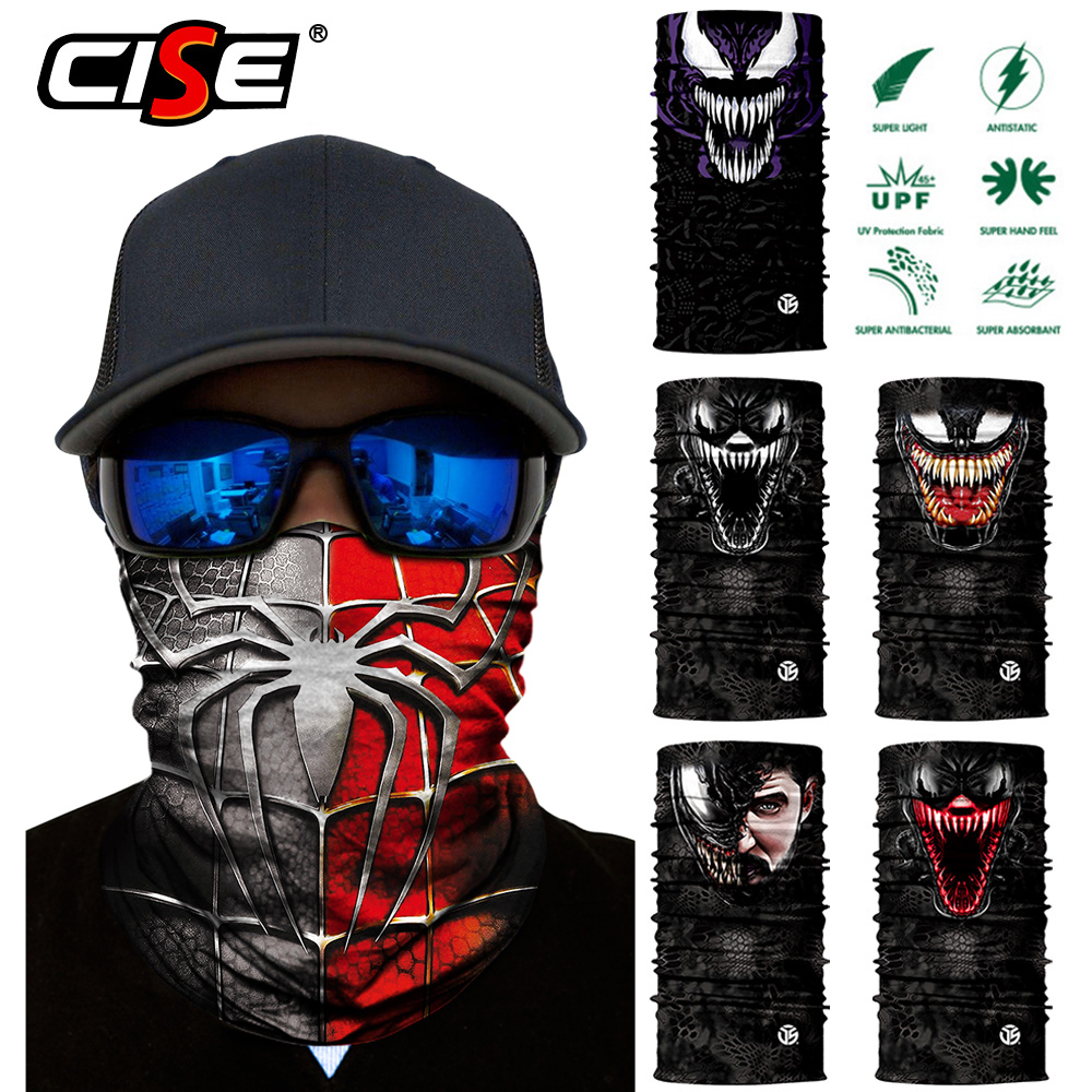 Motorcycle Balaclava Magic Neck Face Mask Ghost Skull Motor Tactical Skiing Motorbike Scarf Bandana Head Shield Helmet Sun Mens-in Motorcycle Face Mask from Automobiles & Motorcycles