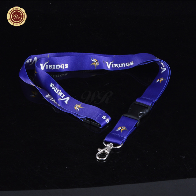Wholesale NFL Lanyard Minnesota Vikings Key Chain-in Stopper from ... d473bc9a4