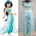 Jazmín de aladdin princesse adulte danseuse enfants du ventre ropa dress cosplay nouveau alta calidad