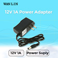 Wanlin UK US EU Type Power Adapter DC 12V 1A CCTV Camera Power Supply Standard Plug Power Adapter AHD Camera