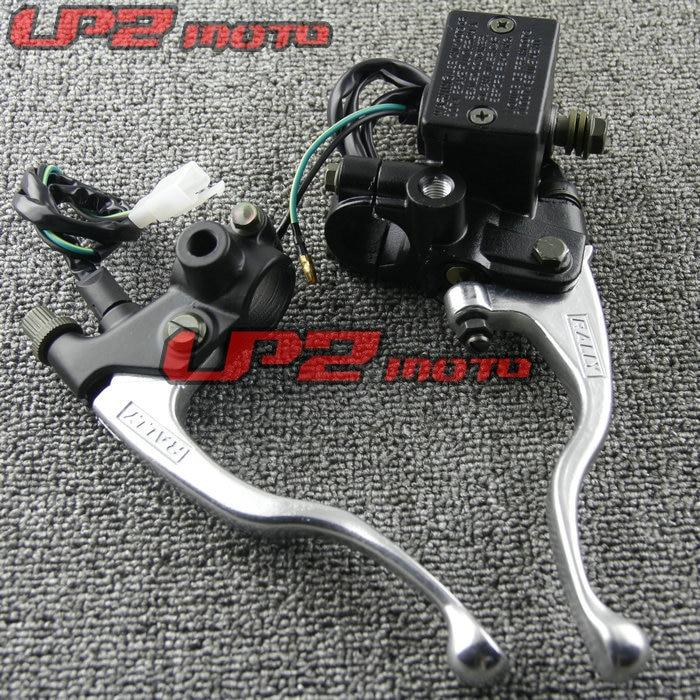 Suitable for YAMAHA Off road Vehicle TTR250 XG250 WR200 WR250 Modified Brake Pump Clutch Horn Brake