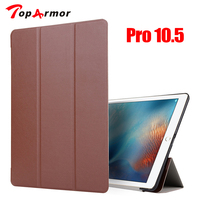 TopArmor Smart Cover Case For New IPad Pro 10 5 2017 Case PU Leather Foldable Flip