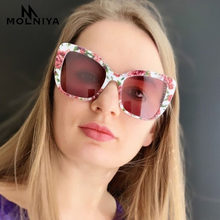2019 Luxury Brand Square Sunglasses Women Oversized Sun Glasses Female Vintage Round Big Frame Outdoor Sunglass UV400(China)