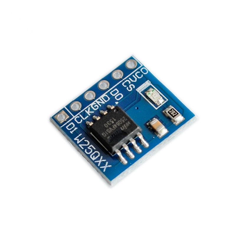 US $0 7 12% OFF|W25Q32 large capacity FLASH storage module SPI interface BV  FV STM32 code For arduino-in Connectors from Lights & Lighting on