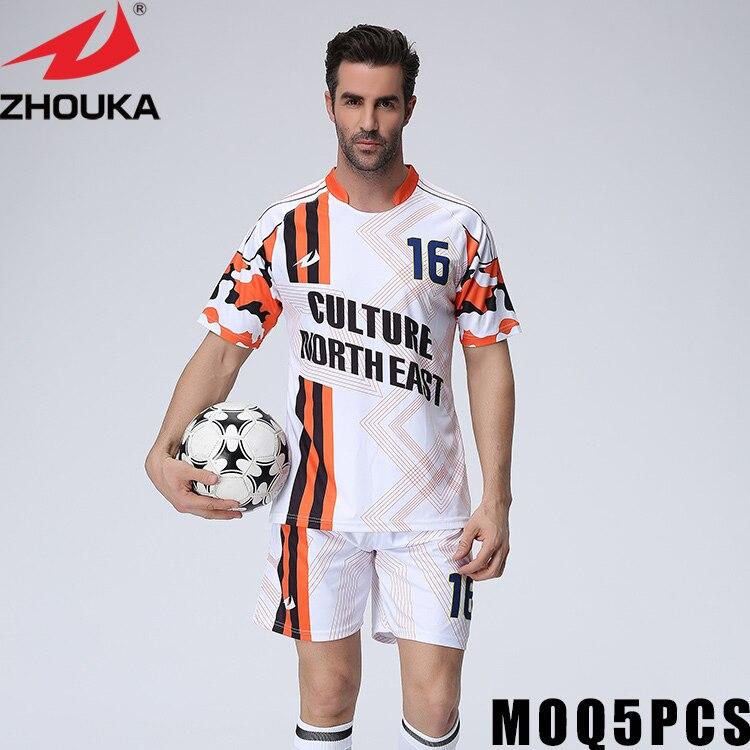 Maillots de football personnalisés en ligne maillots de football britanniques impression par sublimation complète t-shirt de poche blanc personnalisé en gros