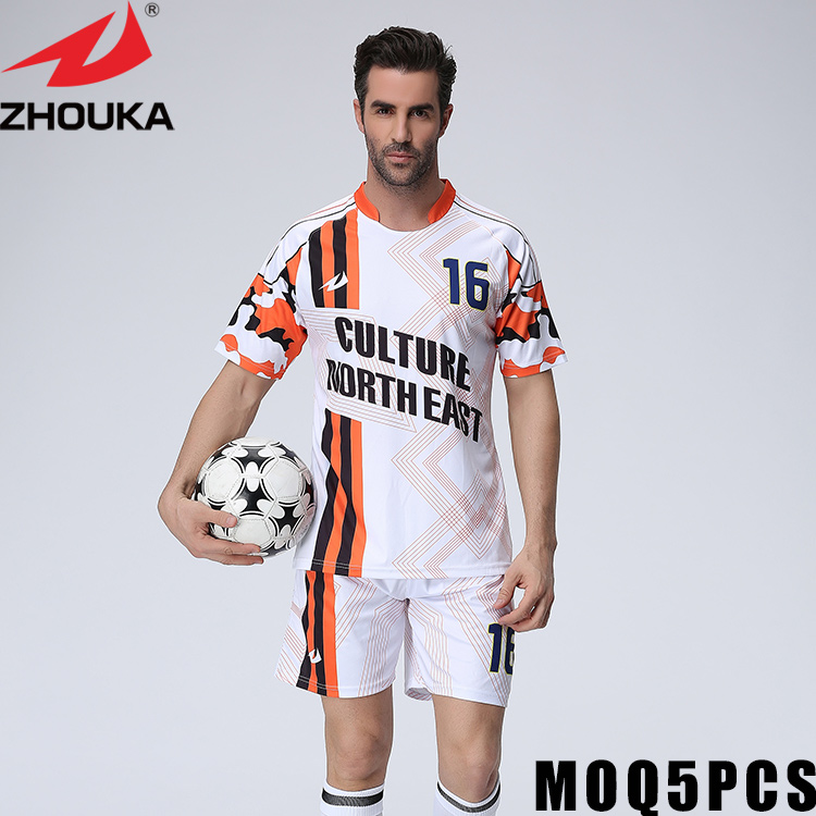 Customized Soccer Jerseys On-line British Soccer Jerseys Full Sublimation Print Personalised Clean Pocket T Shirt Wholesale