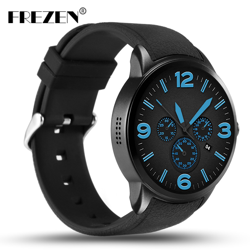 FREZEN X200 Android 5.1 Smartwatch Support 3G wifi GPS Nano SIM card MTK6580 Heart Rate Monitor Smart Watch with Camera PK KW88 мобильный телефон t smart smart g18 3g 200