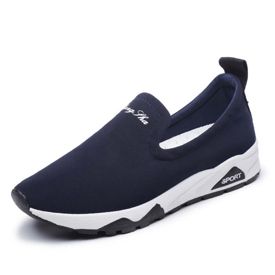 YeddaMavis Shoes Blue Canvas Shoes Women Shoes Women Sneakers New Korean Lazy Shoes Womens Shoes Woman Trainers Zapatos De Mujer in Women 39 s Vulcanize Shoes from Shoes