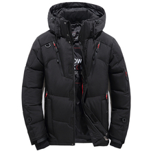 WZZAE 2018 Splice Colors Autumn Winter Jacket Men Hooded Thick Clothing Male Zipper