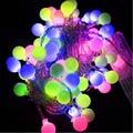 10m 70leds 110v/220v Outdoor lighting LED Ball string lamp Transparent wire Christmas Light fairy wedding garden pendant bulb
