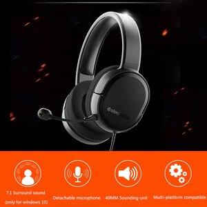 Image 4 - Steelseries Arctis Raw jeu casque casque e sports jeu casque téléphone portable lourd basse réduction du bruit CF